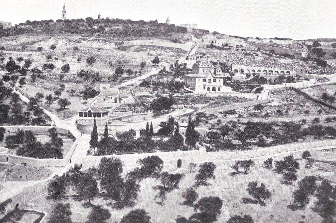 Mount of Olives  taken in 1899