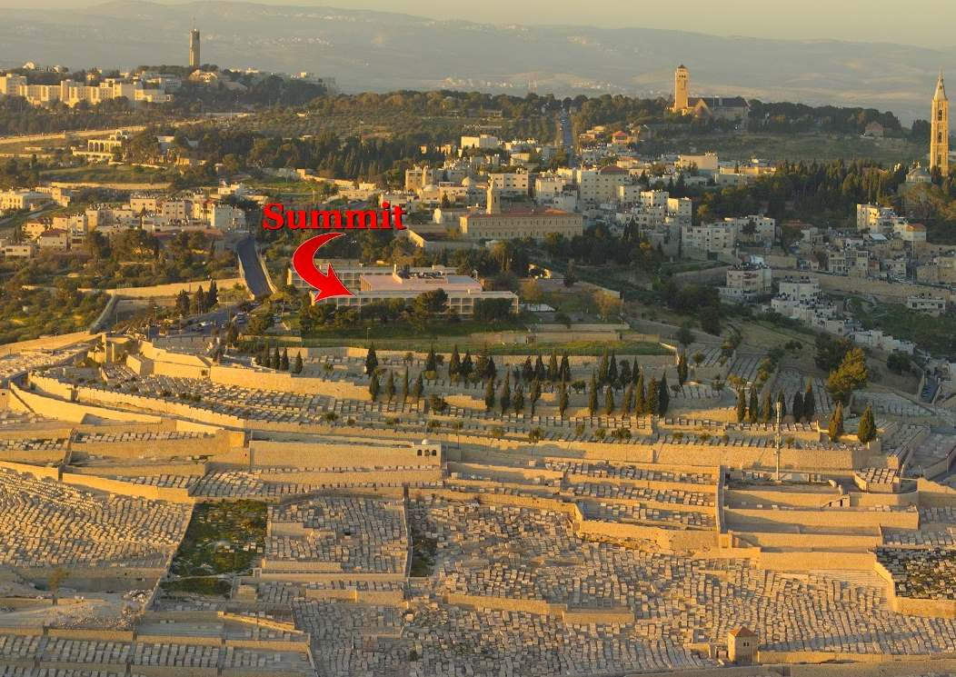 Mount of Olives summit